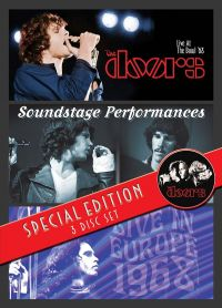 Cover The Doors - Live At The Bowl '68 / Soundstage Performances / Live In Europe 1968 [DVD]